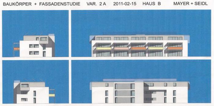 Bauprojekt  Zehmemoos Wohnblock I und II
