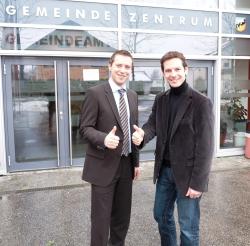 Peter Eder und David Brenner (Quelle: SPÖ Bürmoos)